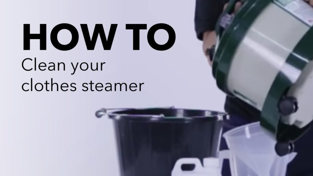 How To Clean A Clothes Steamer